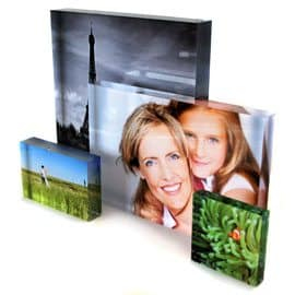 Lumitiles Acrylic Photo Blocks