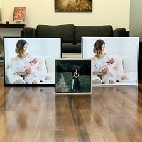 Boxed and Floating Framed Canvas Prints